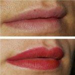 permanente make up lippen