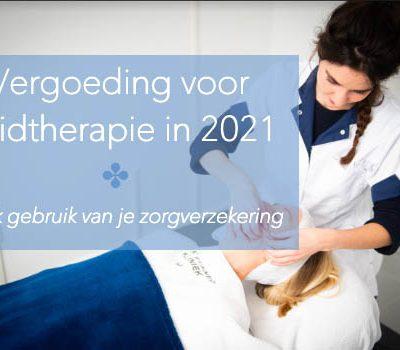 Vergoedingen huidtherapie 2021