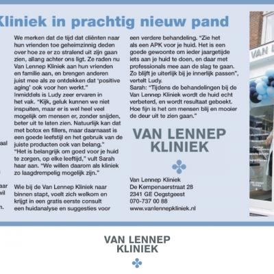 oegstgeester courant Van Lennep Kliniek